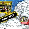 Today's cartoon: Snowed under